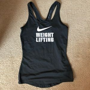 Nike Tops - Women's Nike Pro Weightlifting Tank S